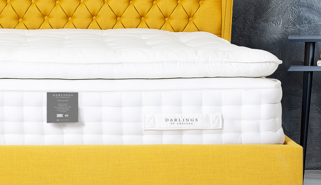 Product photograph showing Coulston 9000 Pillow Top Pocket Super King Mattress
