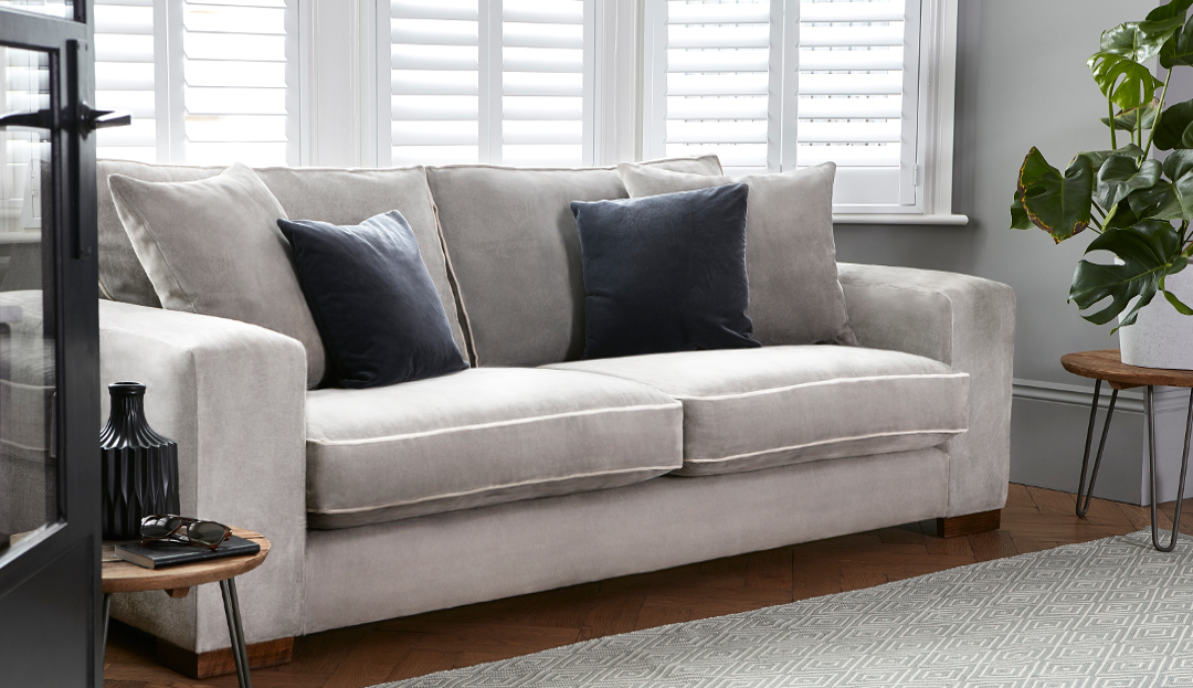 Product photograph showing Ashdown Large Sofa