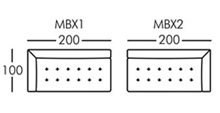 Morellia Modular 3 Seater Sofa Unit With 1 Arm
