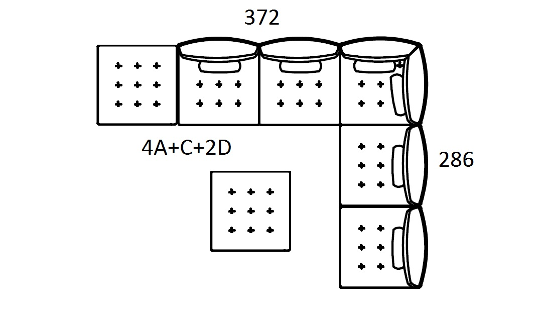 Alice Modular Large Corner Sofa