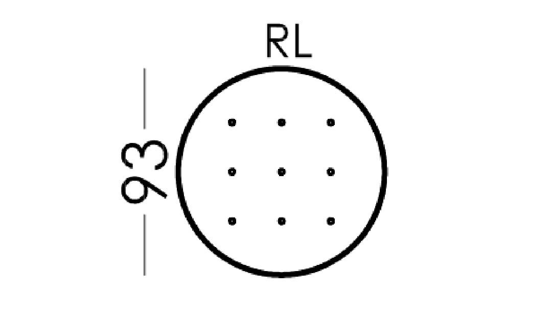 Alice Modular Large Round Footstool