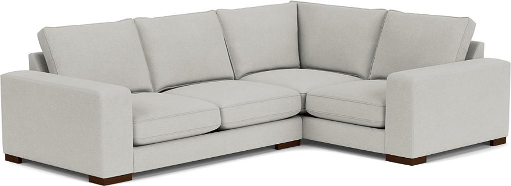 Product photograph showing Ashdown Medium Corner Sofa - Right