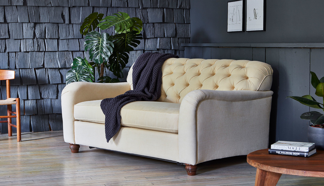 Product photograph showing Bakewell Loveseat Sofa