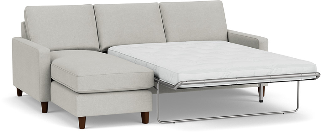 Product photograph showing Beckenham 3 5 Seater Chaise Sofa Bed