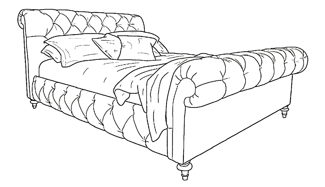 Headly King Bed High End