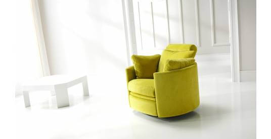 Orbit Armchair with Manual Recliner [Rsw]