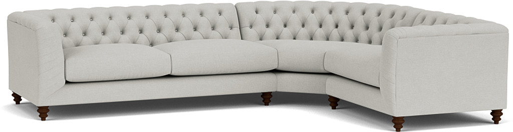 Product photograph showing Dulwich Medium Corner Sofa