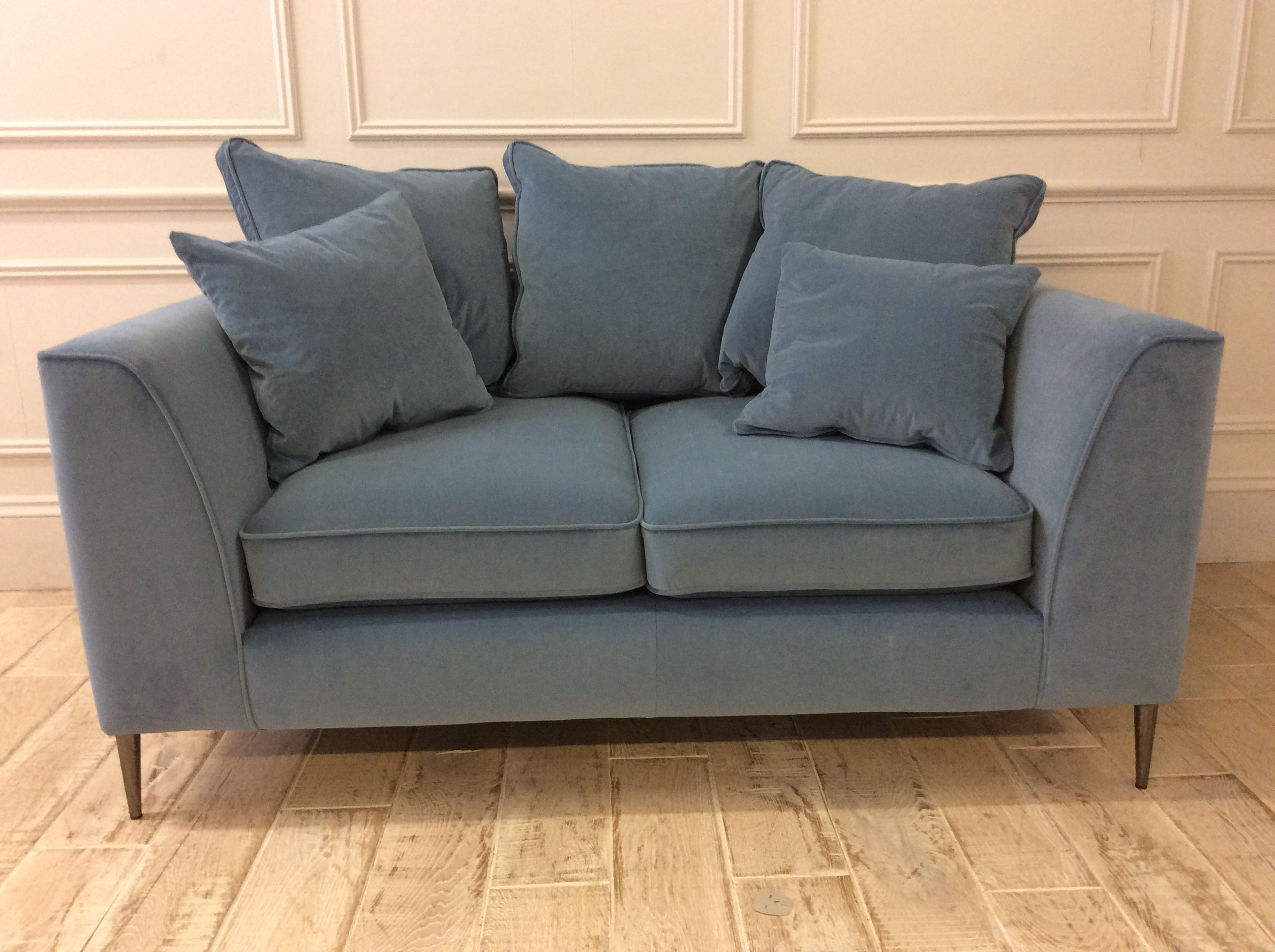 Product photograph showing Bembridge Scatter Back Small Sofa 2 Available