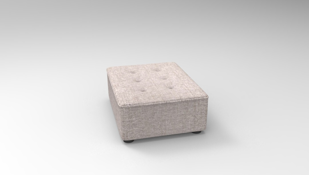 Product photograph showing Alice Modular Medium Footstool E