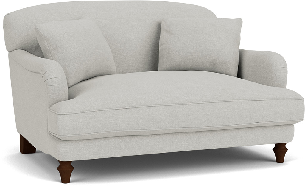 Product photograph showing Evelyn Love Seat