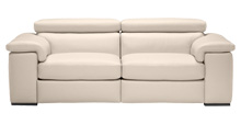 Fabio 2 Seater Sofa with Electric Recliners & Headrests
