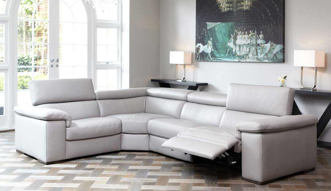 Fabio Corner Sofa in 20JK Leather