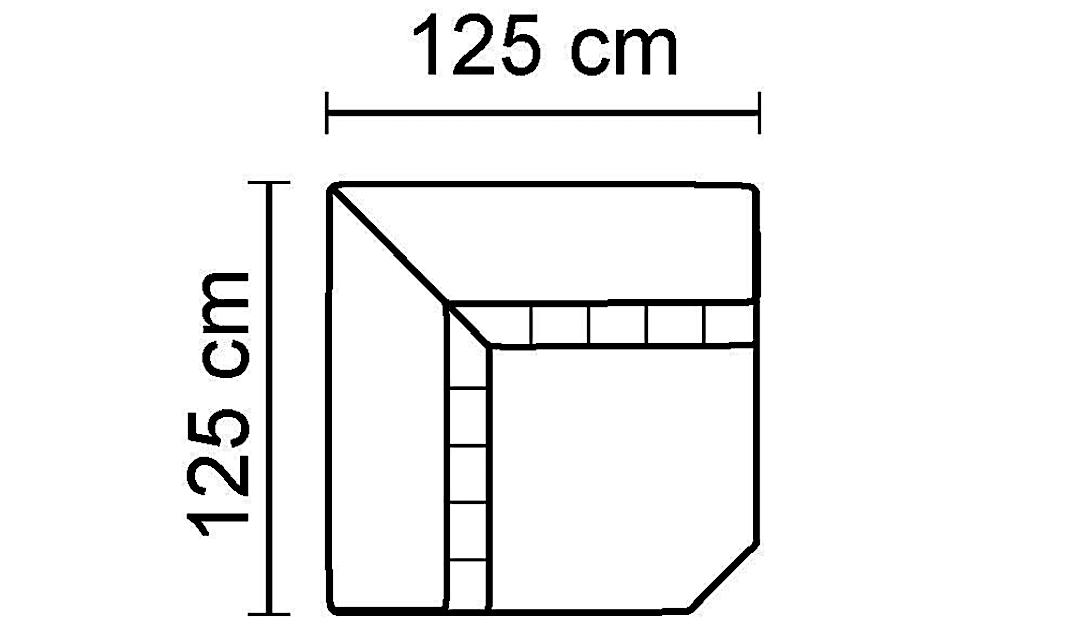 Florentina Square Corner Unit