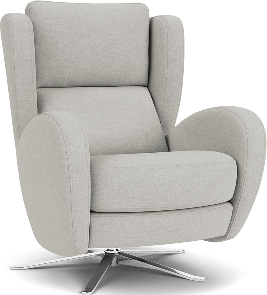 Product photograph showing Raphael Swivel Chair