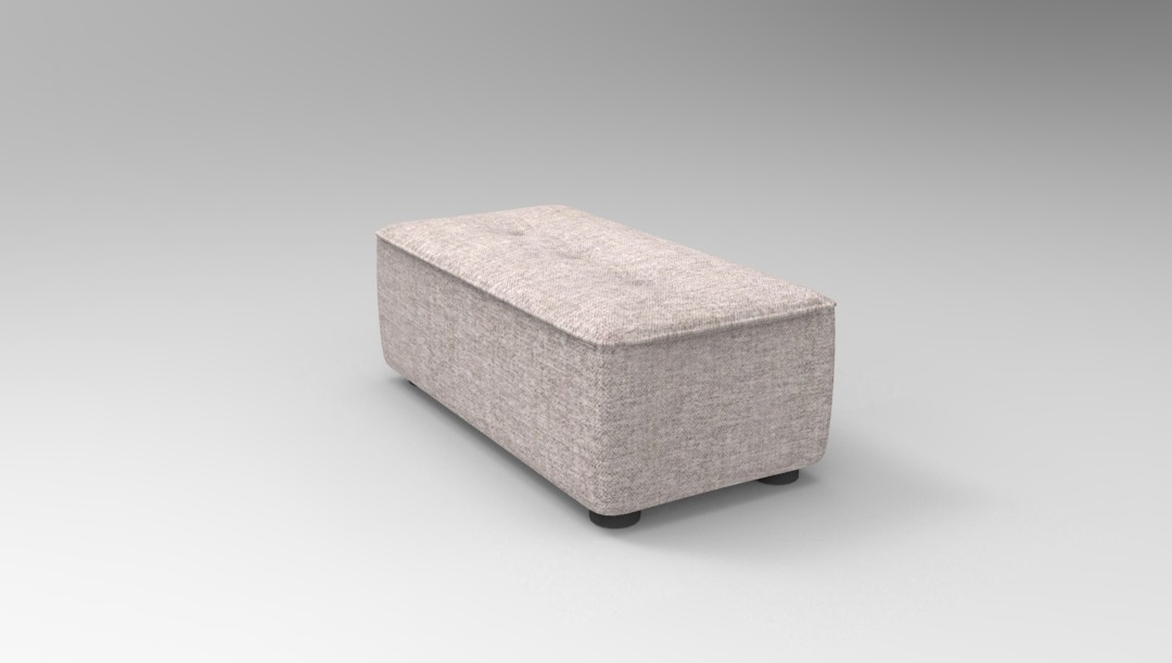 Product photograph showing Alice Modular Small Footstool G