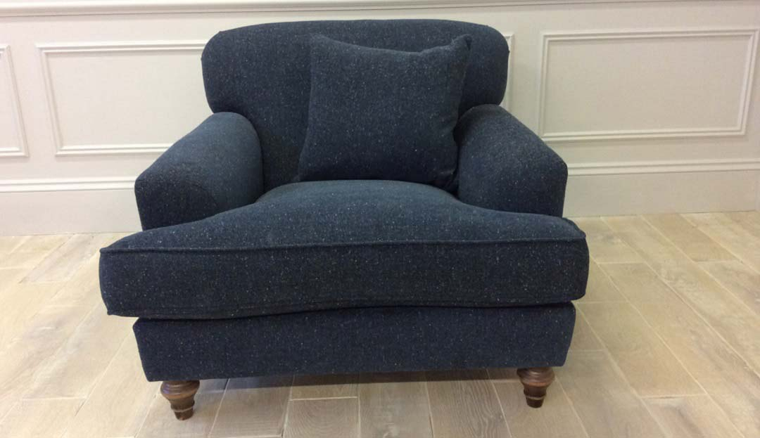 Galloway Gent's Chair in Fleck (Discontinued Fabric)