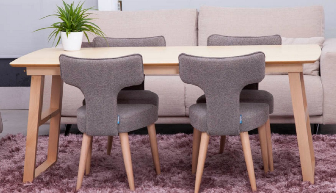Goya Adaptable Dining Table  with Millie Dining Chairs
