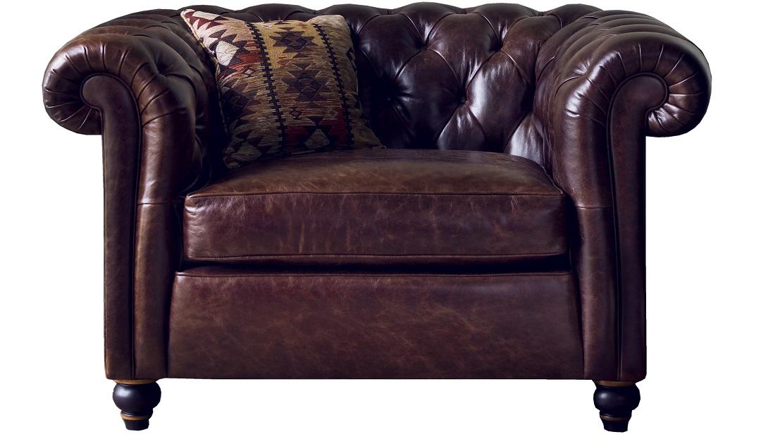 Duresta Connaught Leather Haig Chair