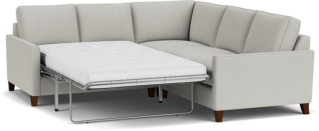 Hayes 2 x 2 Seater Corner Sofa Bed