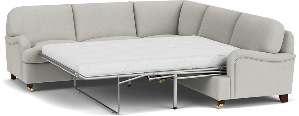 Product photograph showing Helston 3 X 3 Seater Corner Sofa Bed