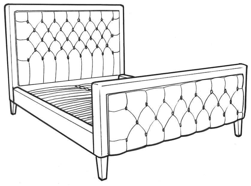 Glenroe King Size Bed
