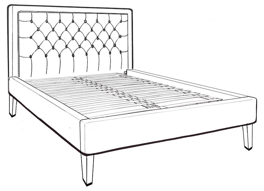 Glenroe King Size Bed - Low End
