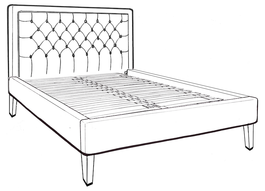 Glenroe Double Bed - Low End