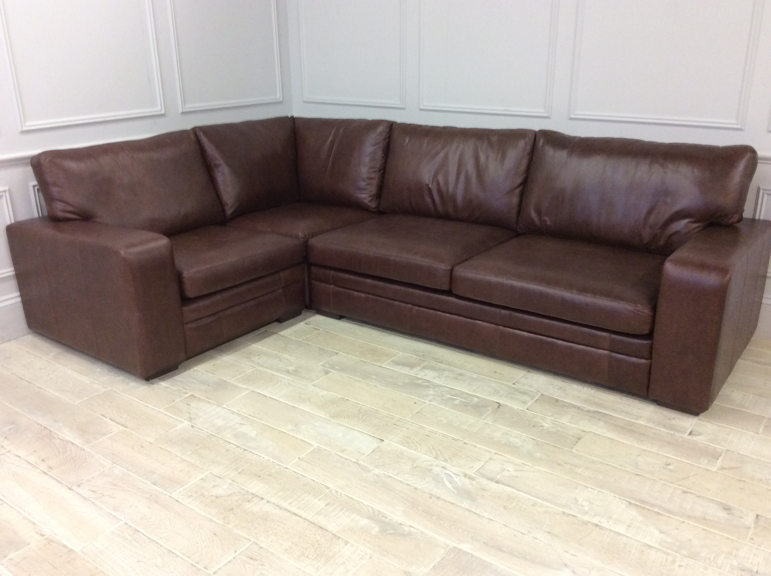Product photograph showing Sloane 3 5 X 1 5str Corner Sofa Bed