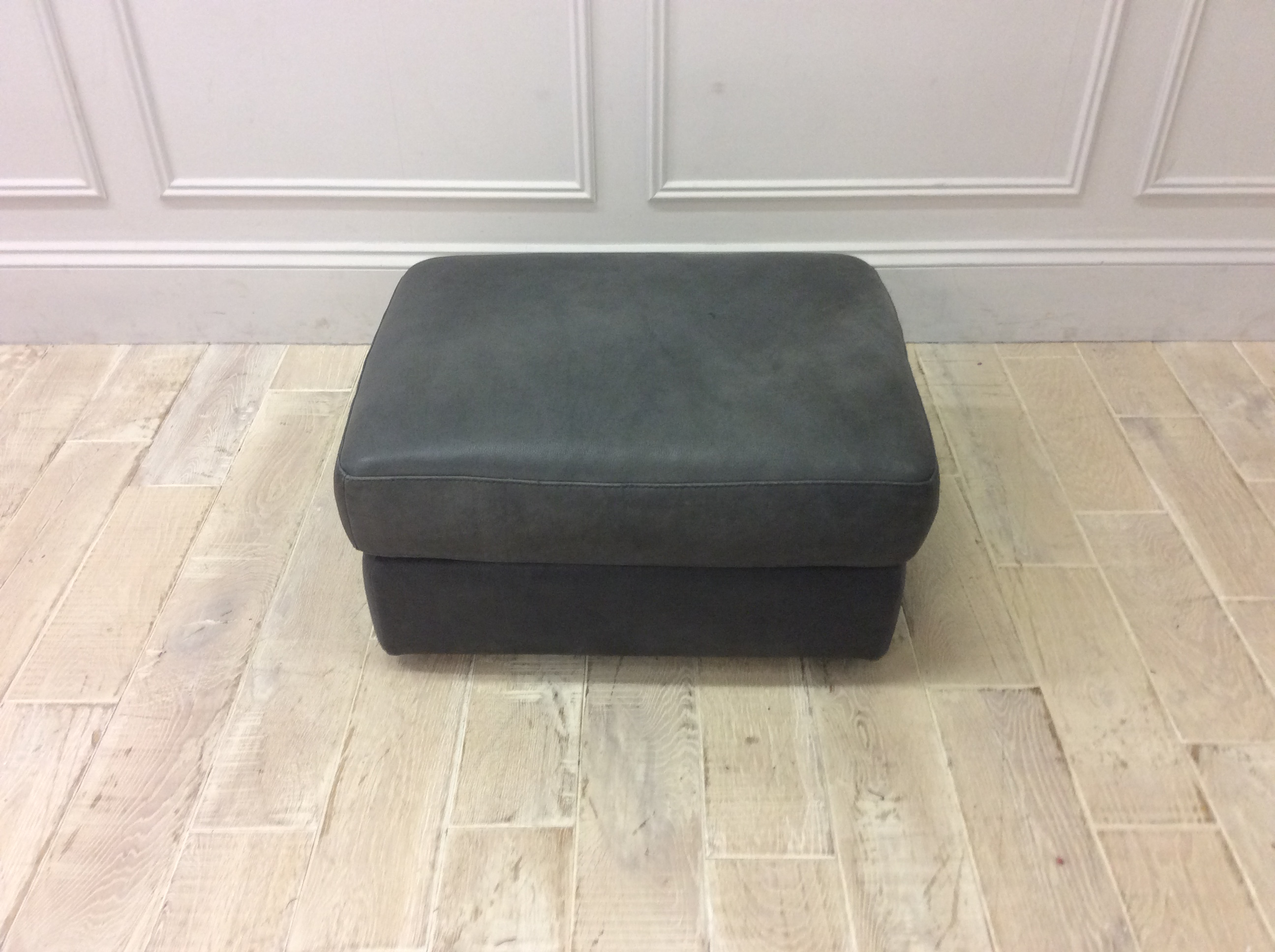 Product photograph showing Naples Square Footstool 010
