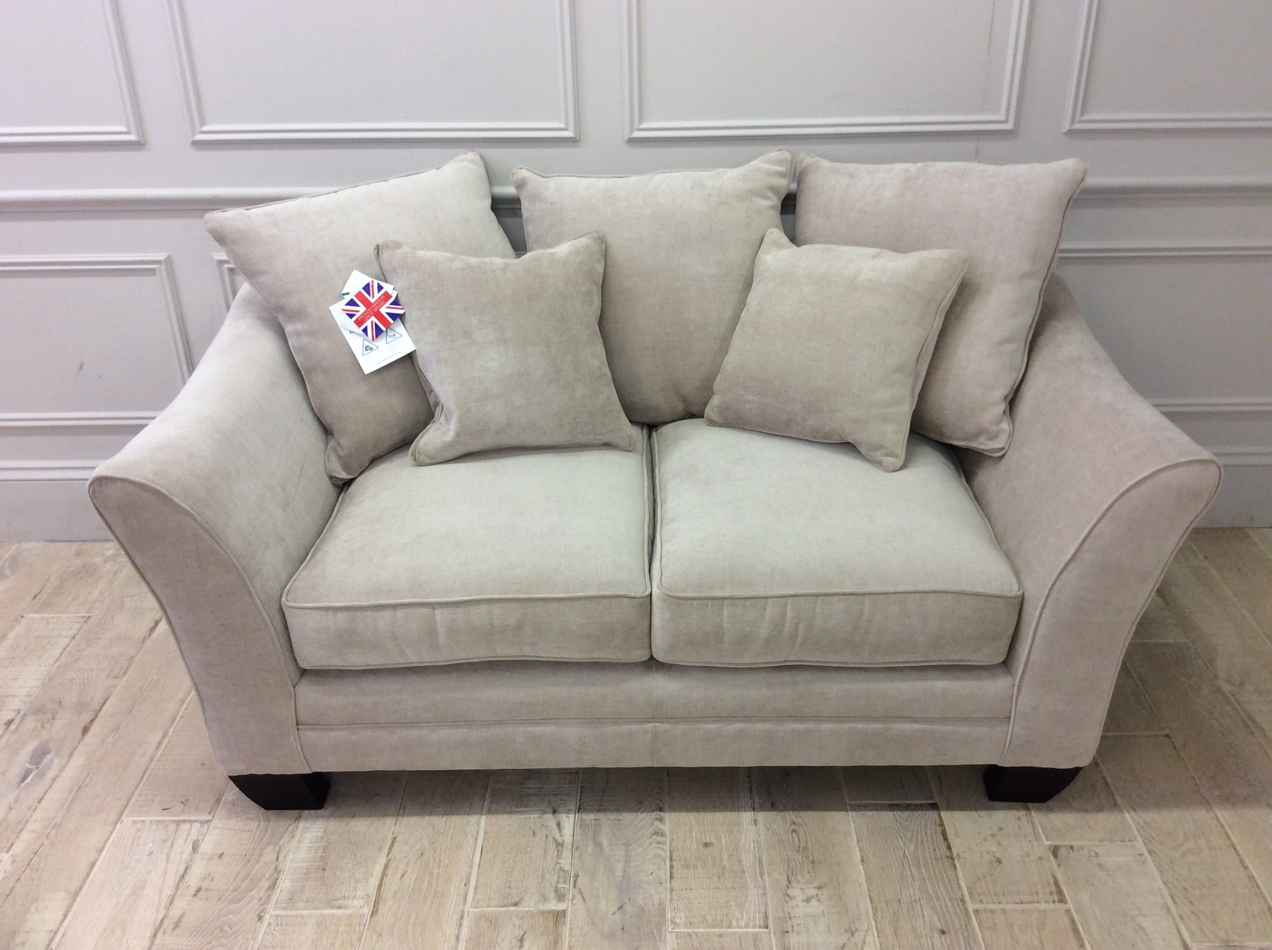 Product photograph showing Hardy Pillow Back 2 Seater
