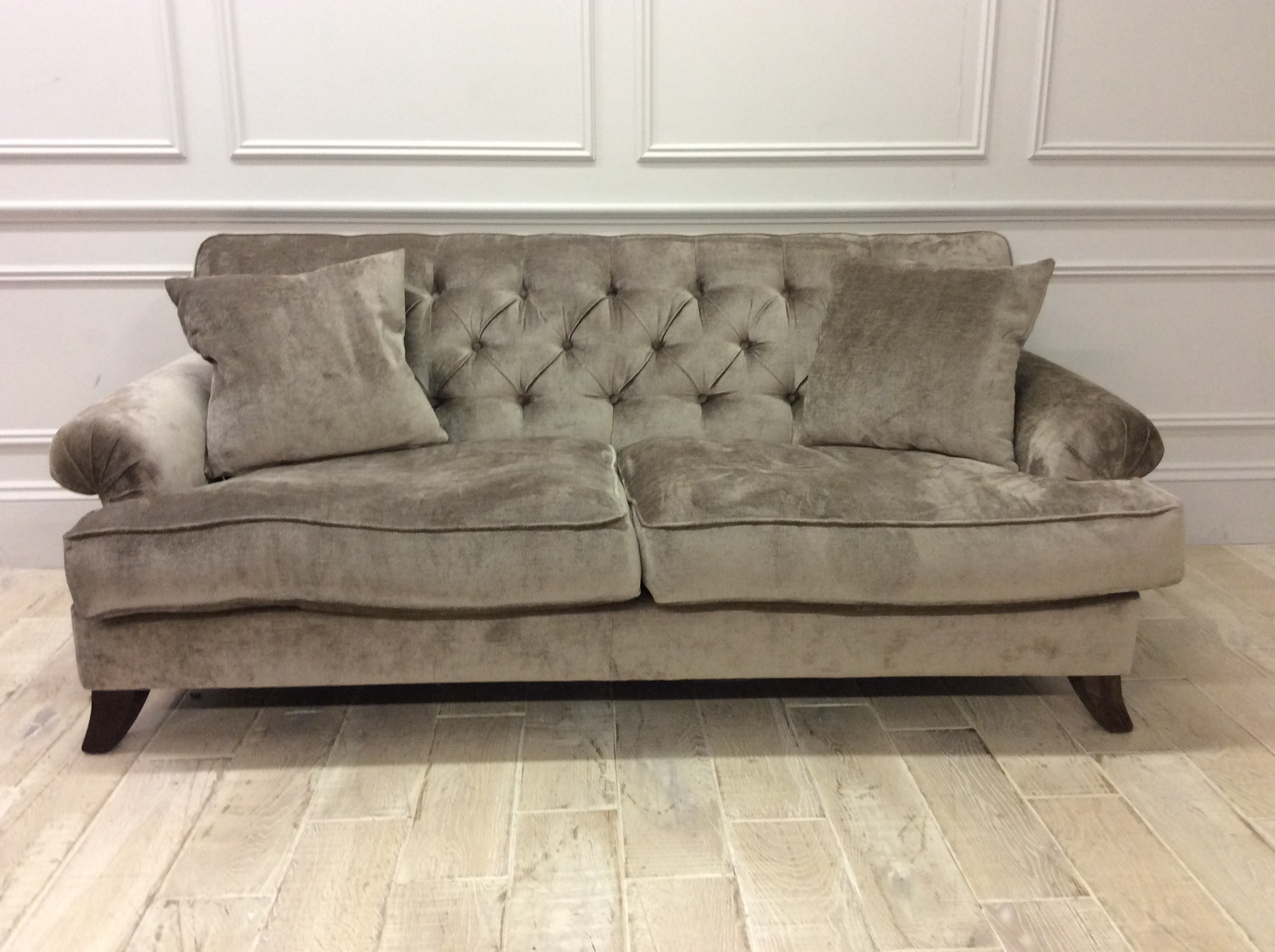 Product photograph showing Heartwood Medium Sofa In Dolce Mink