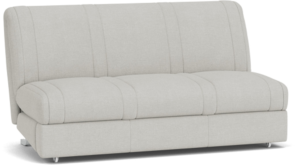 the launceston 3.5 seater sofa bed in easy clean soft as cotton cambridge blue