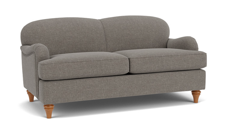 Lincoln 3 Seater Sofa in Easy Clean Soft as Cotton Hippo