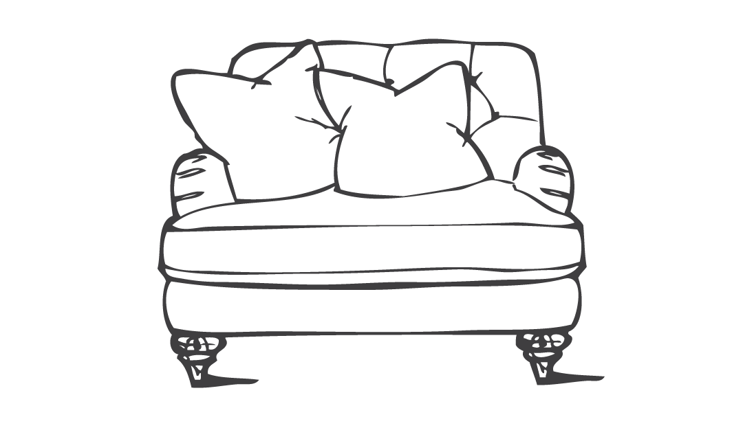 Product photograph showing Woodbridge Loveseat