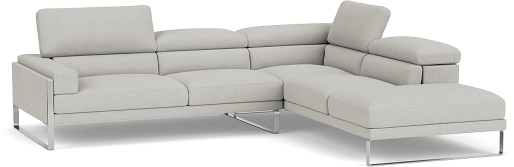 Product photograph showing Rocco Chaise Corner Sofa - Left Or Right