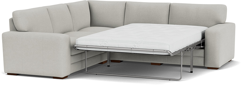 Product photograph showing Sloane 3 X 2 5 Seater Corner Sofa Bed