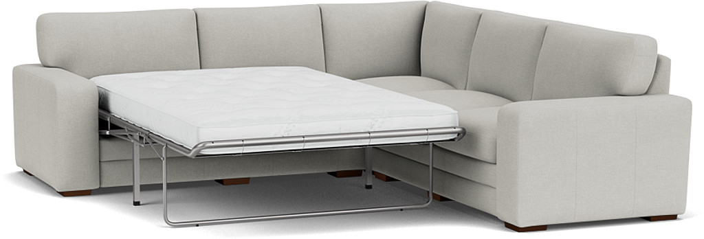 Product photograph showing Sloane 3 X 3 Seater Corner Sofa Bed