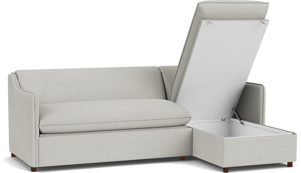 Product photograph showing Norbury 3 Seater Chaise Sofa