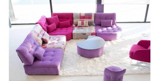 Alice Modular Large Corner Sofa with Curved Finish  [3xA+Z+Y2]