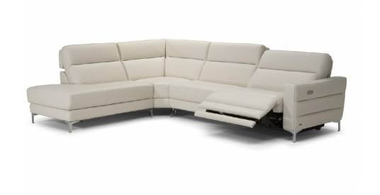 Orlando Corner Chaise Sofa with Electric Recliner - Left or Right