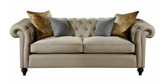 Duresta Connaught Leather Minor Sofa
