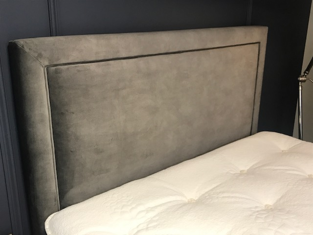 Product photograph showing Perry Headboard With Cove Storage Divan