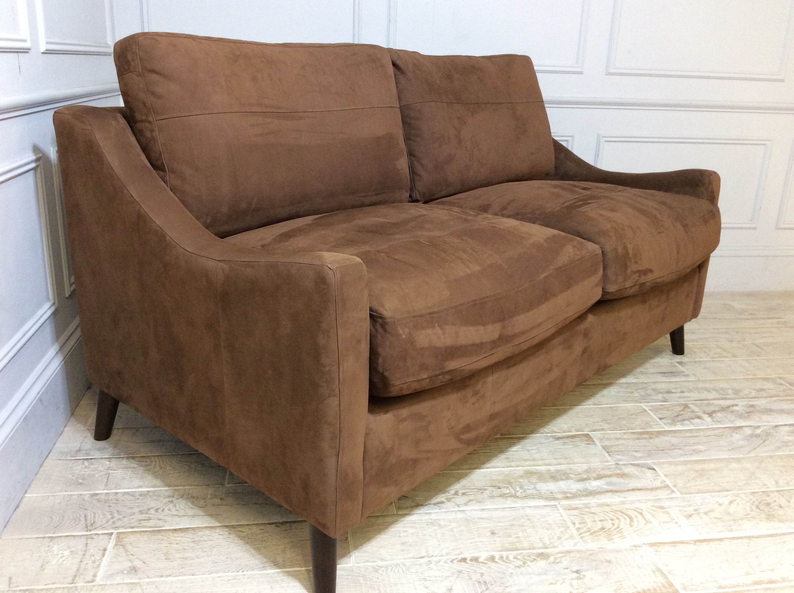 Weymouth 3 Seater Sofa Bed in Burnt Caramel