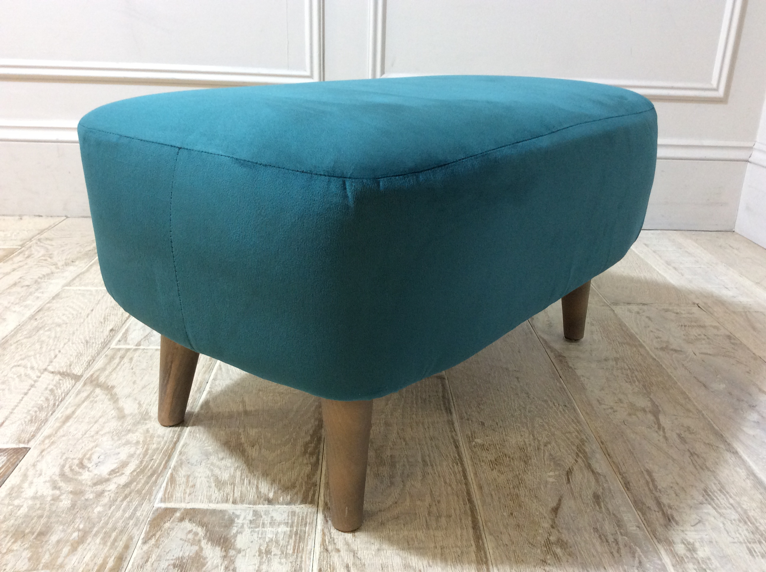 Brighton Small Bench Stool in Teal