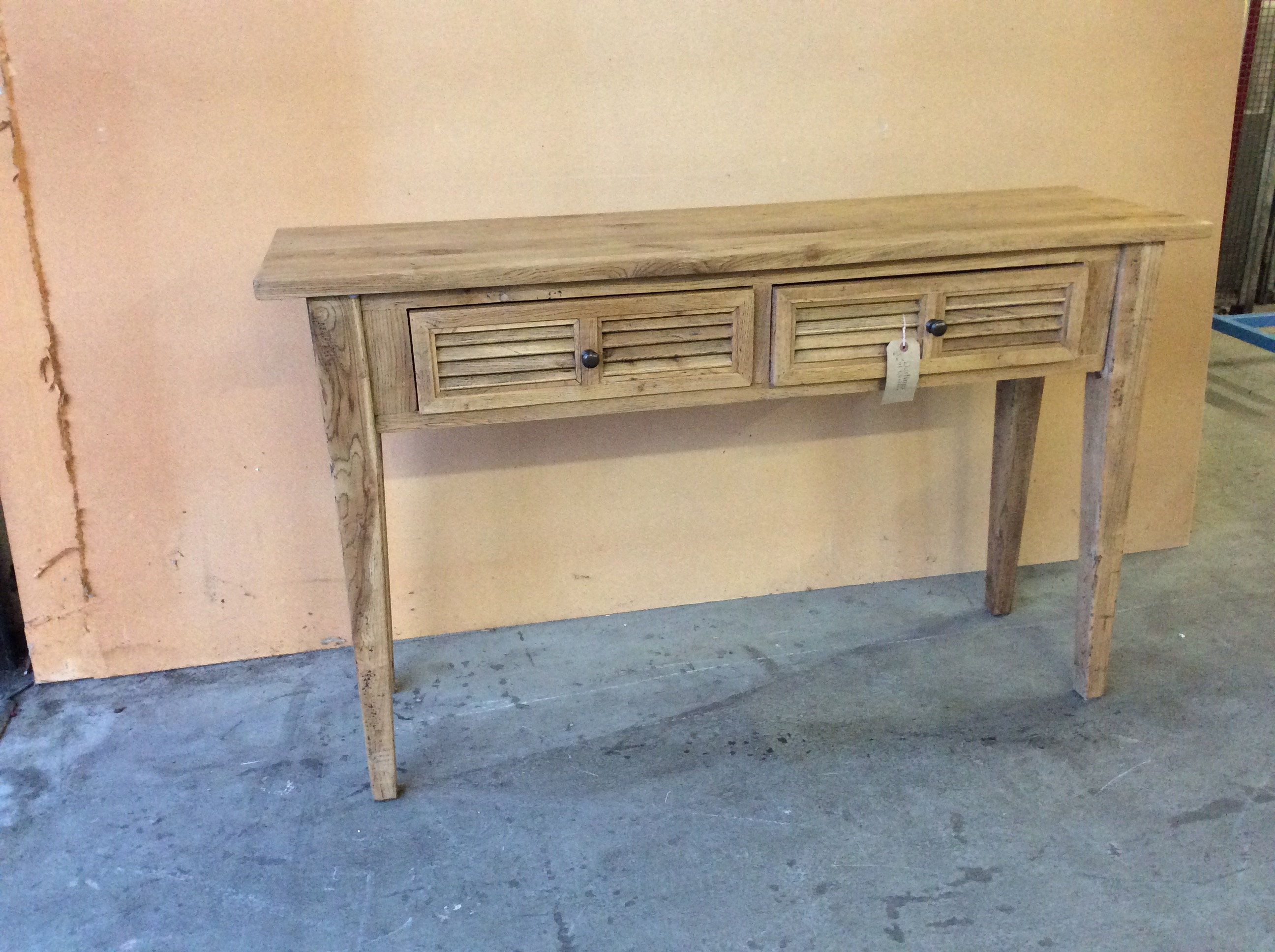 Product photograph showing Wooden Side Table With Drawers