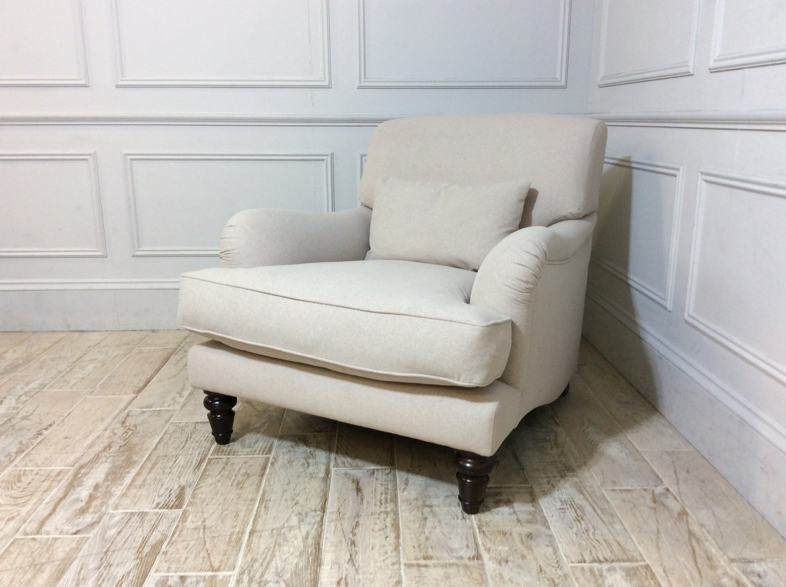 Aberdeen Fabric Chair in Parchment