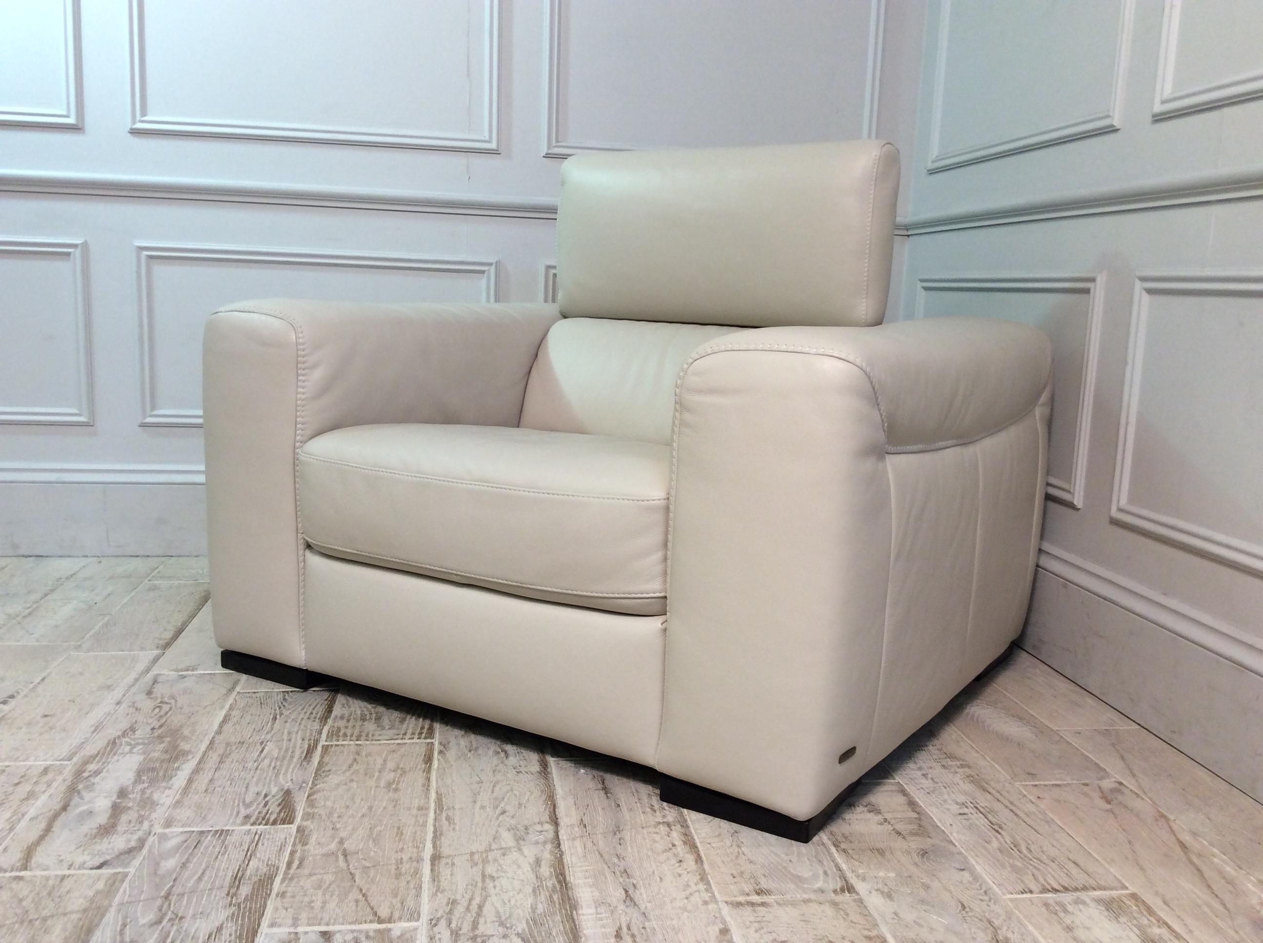 Fernando Leather Armchair in 20JJ