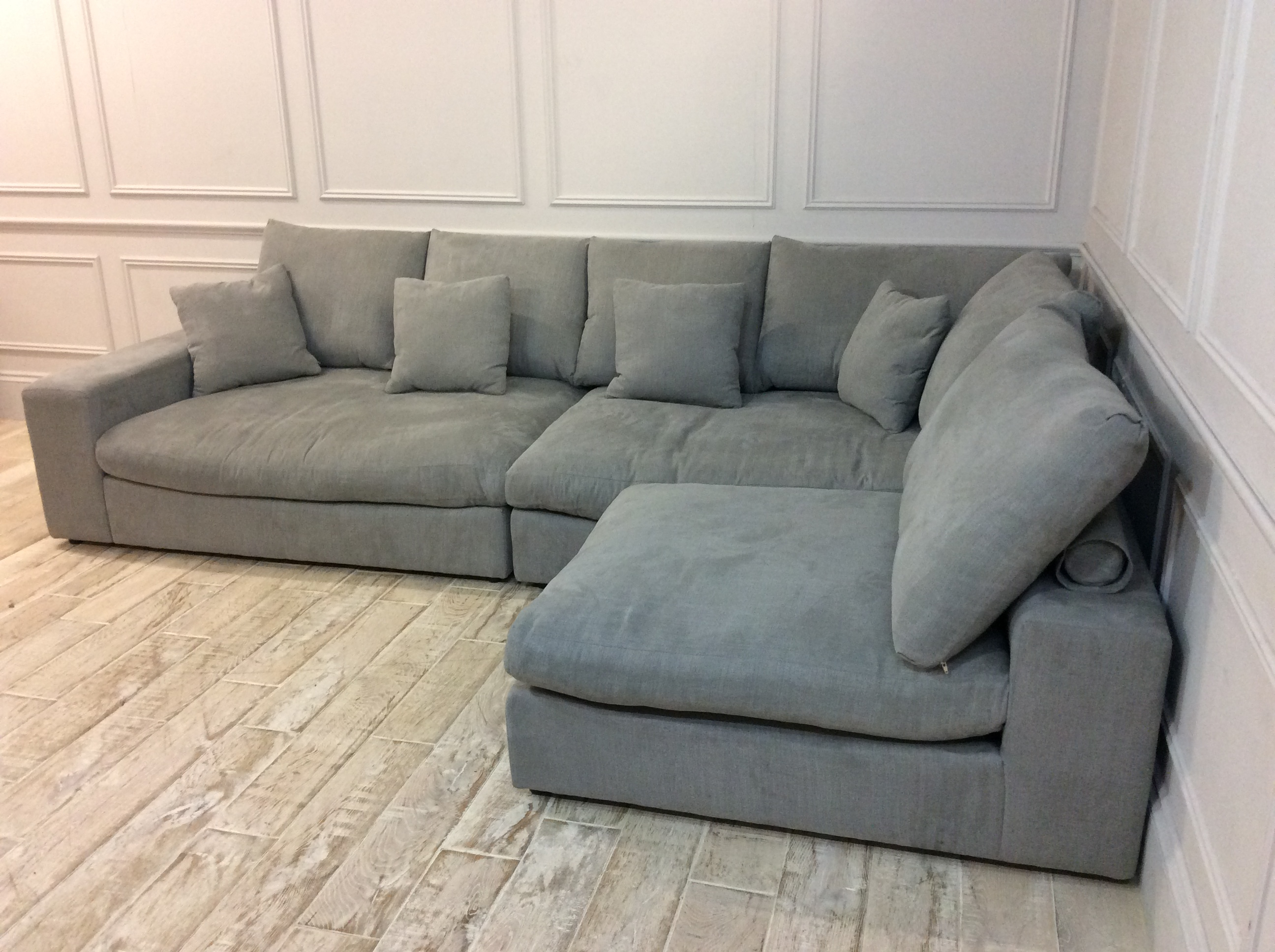 Product photograph showing Haymarket Extra Deep Sofa In Hippo