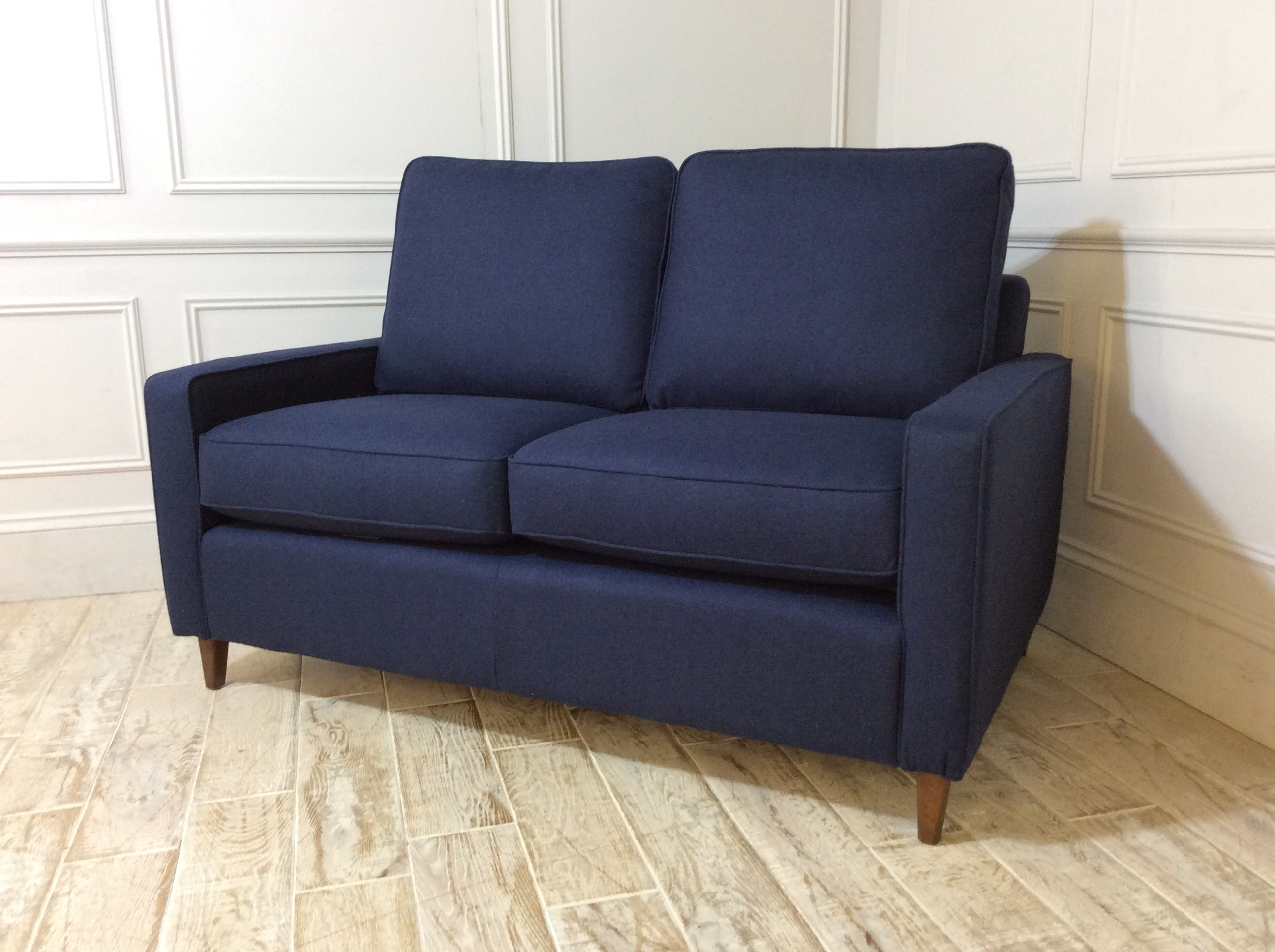 Beckenham 2 Seater Sofa in Wool Ink