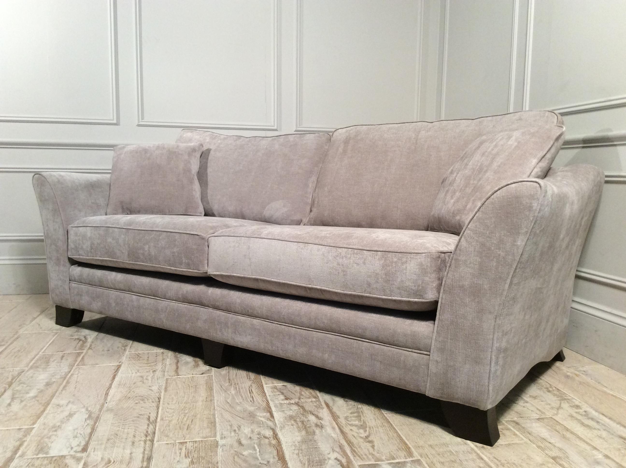 Hardy Standard Back 3 Seater in Sherlock Mink